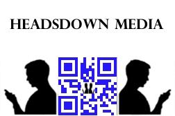Custom QR Code for Headsdown Media